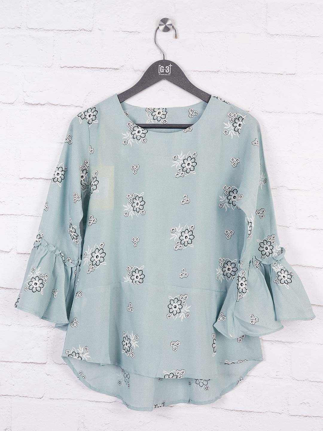 Grey color cotton casual top?imgeng=w_400