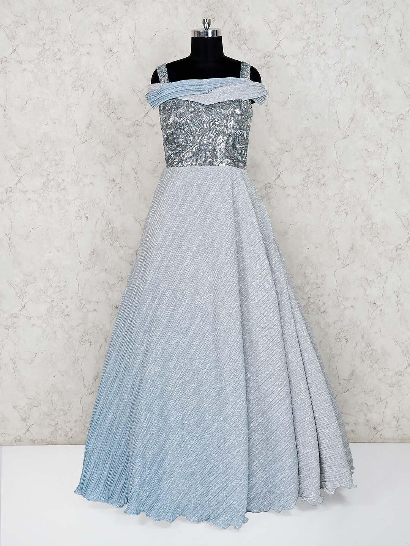 Grey net reception wear floor length gown?imgeng=w_400