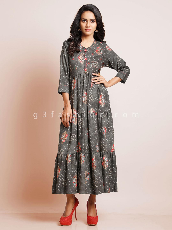 Grey printed casual kurti in cotton?imgeng=w_400