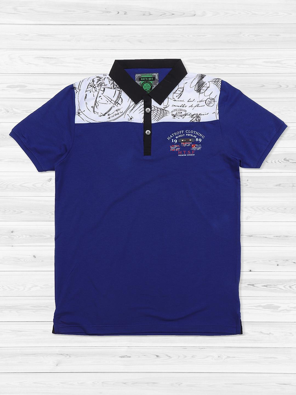 Hats Off blue mens t-shirt?imgeng=w_400