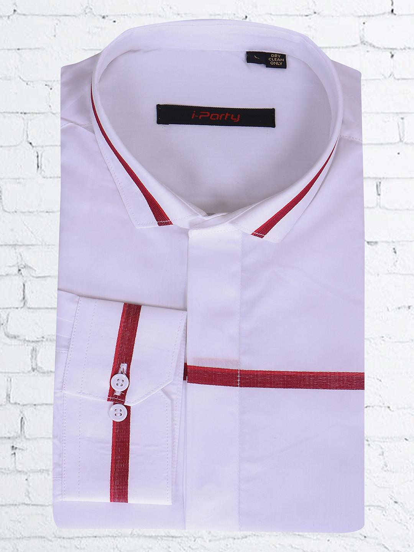 I Party white cotton shirt?imgeng=w_400