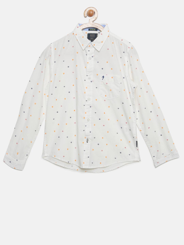 Indian Terrain off white cotton shirt?imgeng=w_400