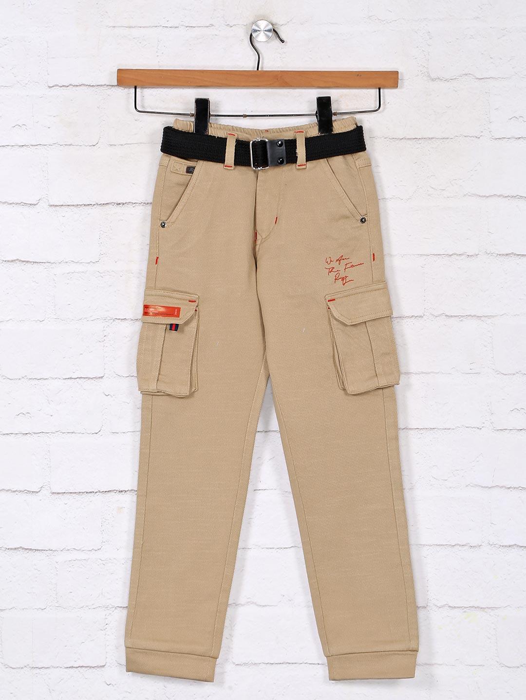 Khaki casual cotton boys cargo?imgeng=w_400