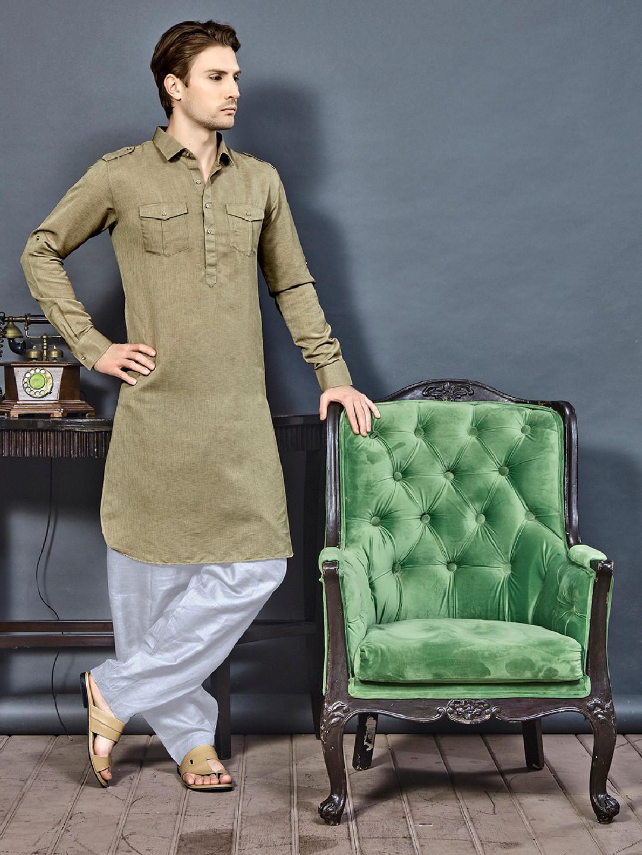 Khaki color pathani suit?imgeng=w_400