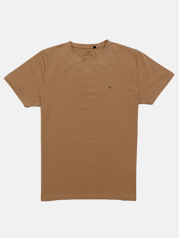 Kuch Kuch half sleevs khaki solid t-shirt?imgeng=w_400