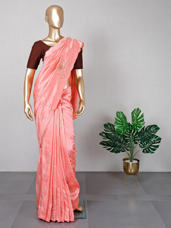 Latest designer pink silk saree?imgeng=w_400