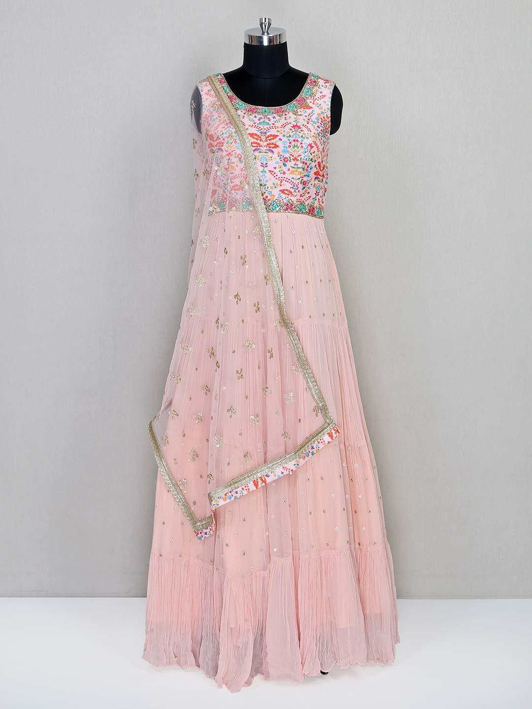 Latest peach wedding wear salwar kameez?imgeng=w_400