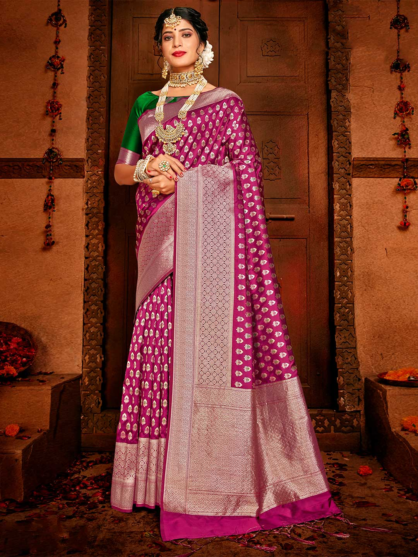 Latest purple saree for wedding function?imgeng=w_400
