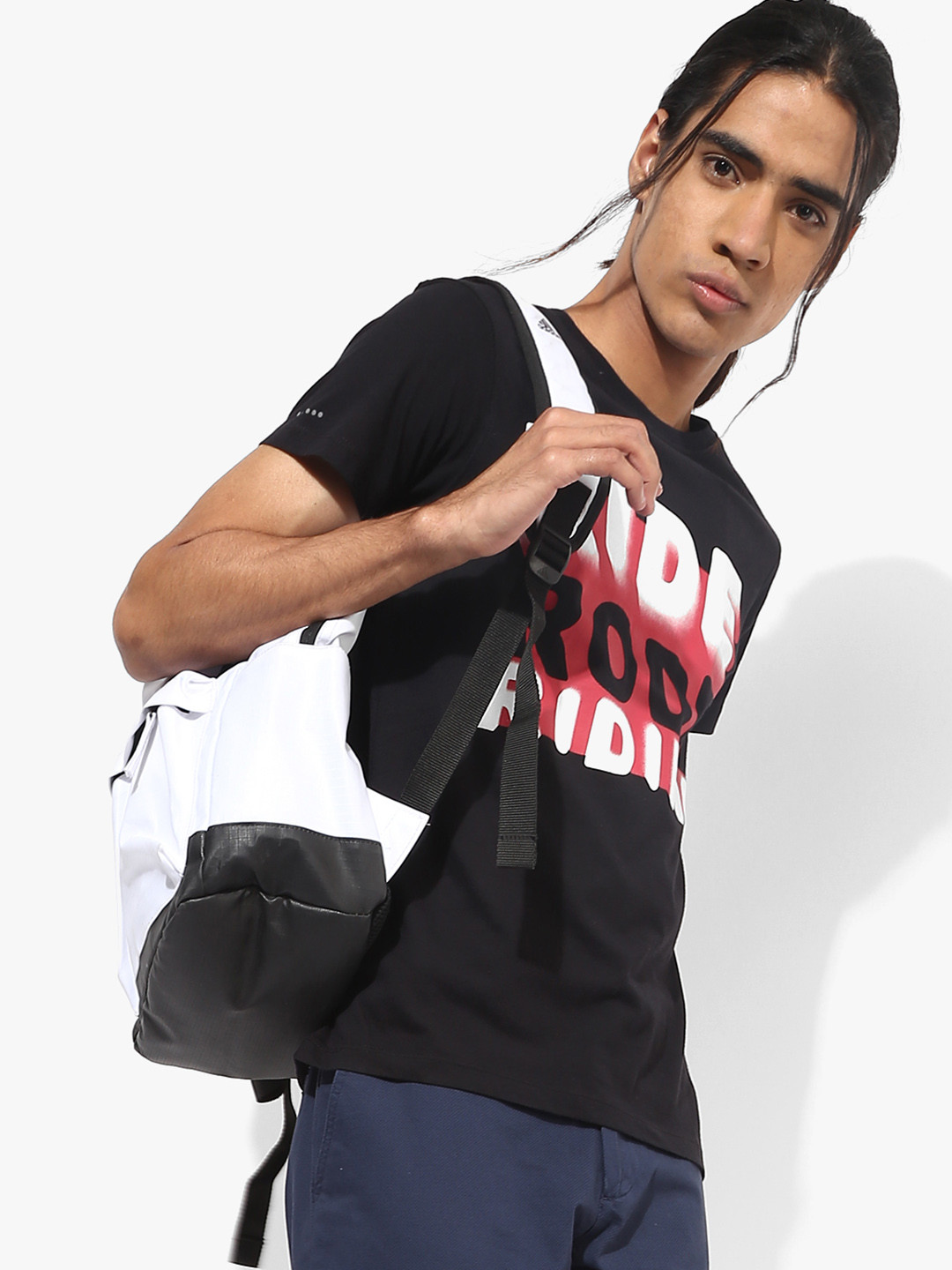 Lee black color casual printed t-shirt?imgeng=w_400