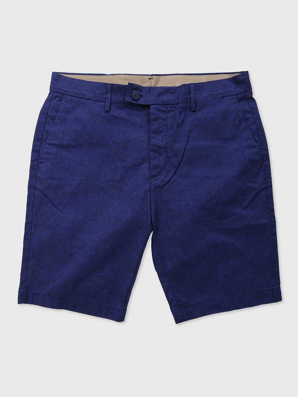 Levis blue cotton casual wear shorts?imgeng=w_400