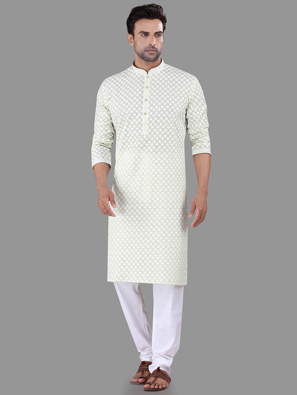 Light green chikan kurta suit?imgeng=w_400