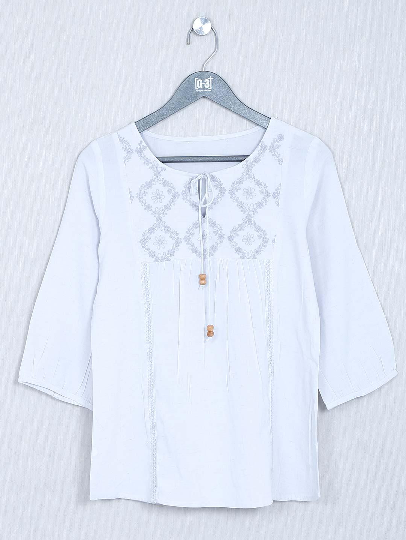 Light grey casual cotton top?imgeng=w_400