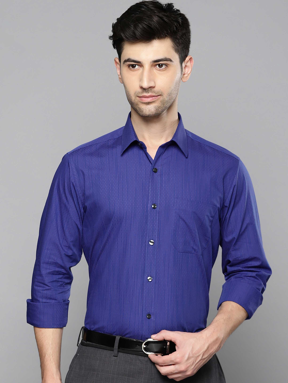 Louis Philippe royal blue shirt?imgeng=w_400