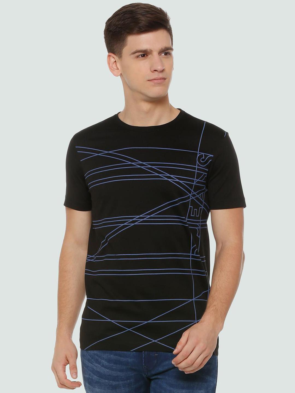 LP Sport black printed cotton t-shirt?imgeng=w_400
