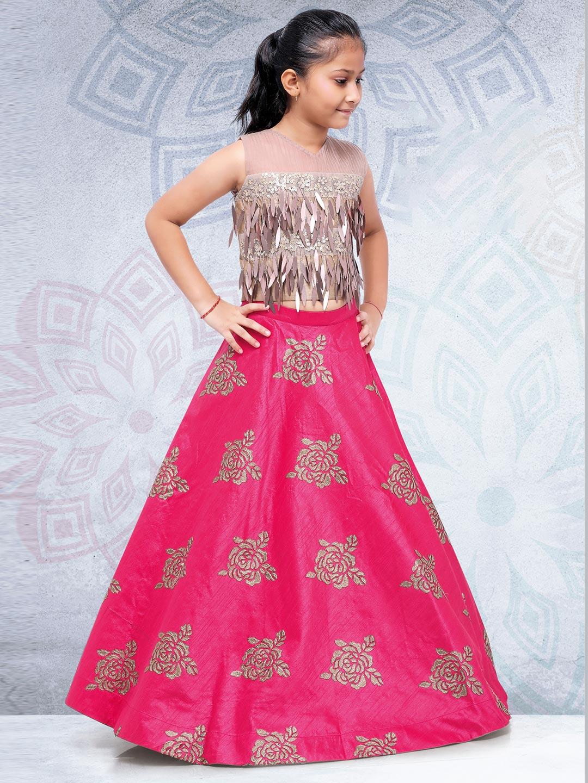 Magenta hue silk fabric festive lehenga choli?imgeng=w_400
