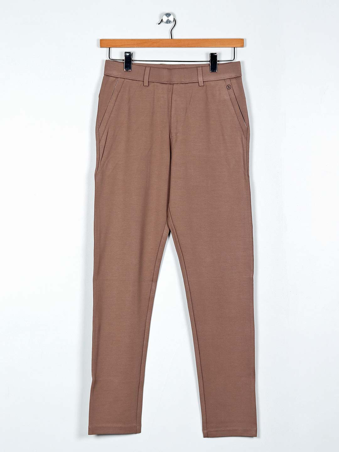Maml brown cotton solid night mens track pant?imgeng=w_400