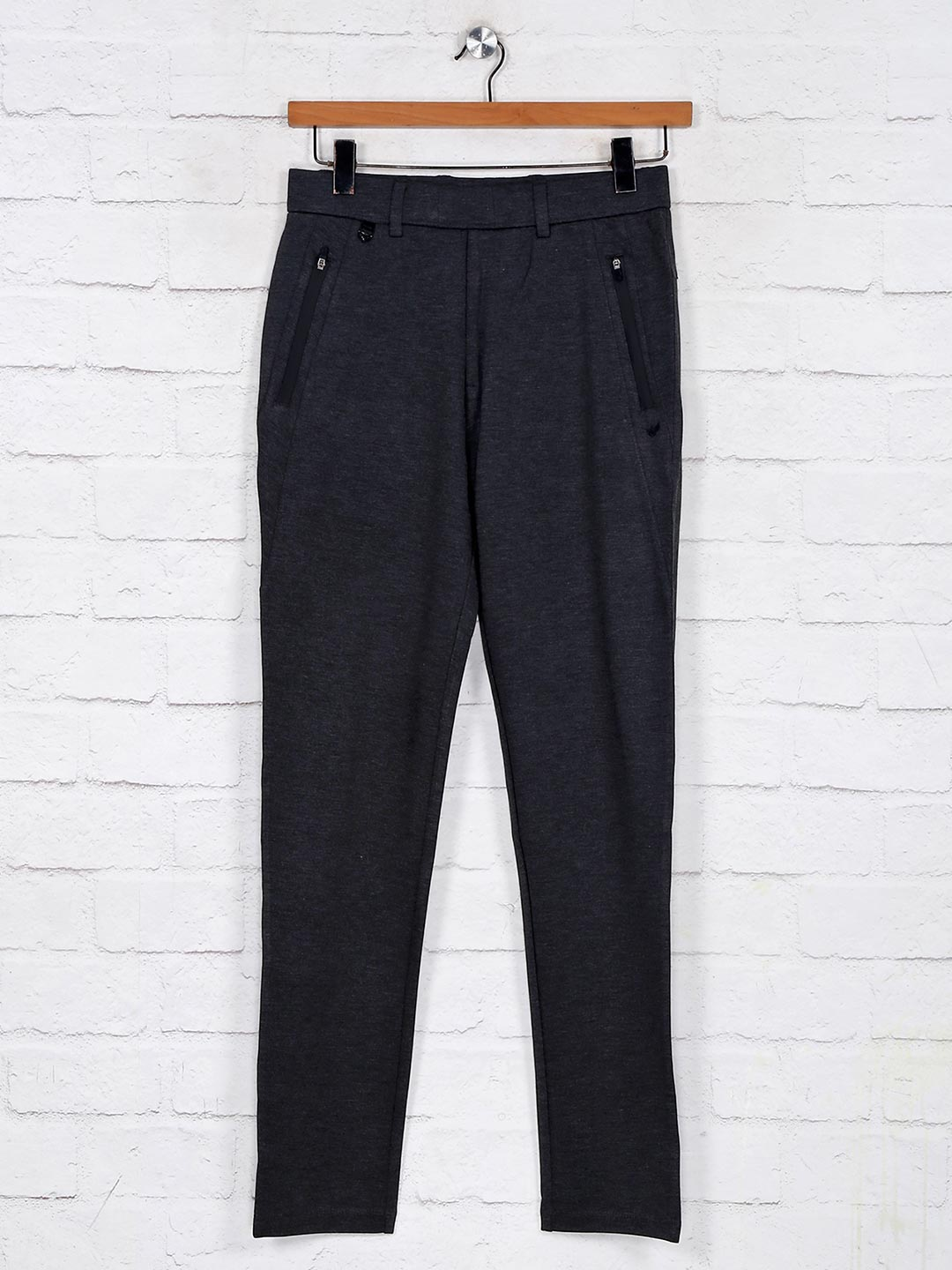 Maml grey solid cotton track pant?imgeng=w_400