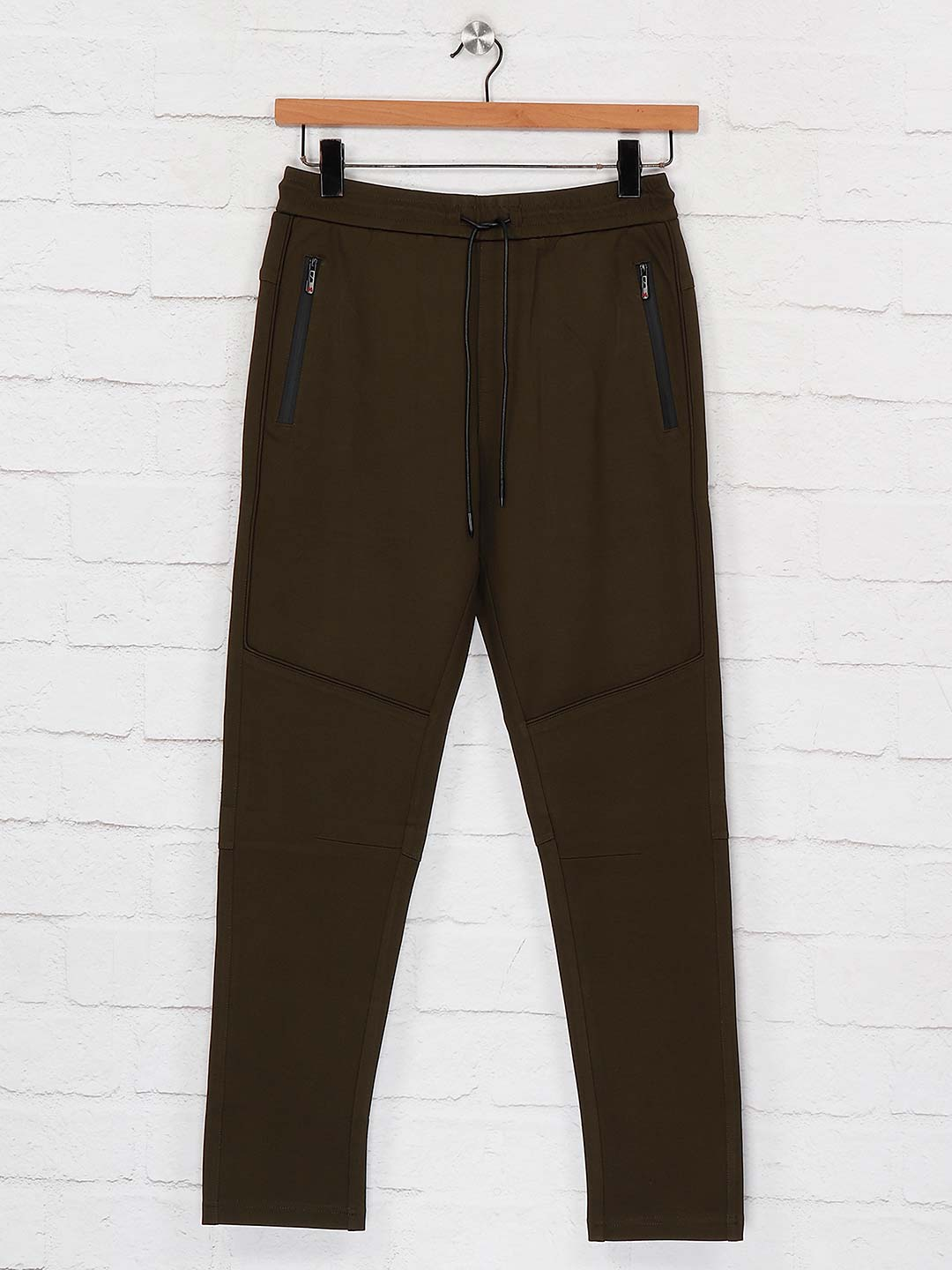 Maml night wear olive hue solid pant?imgeng=w_400