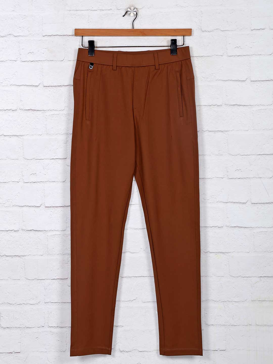 Maml simple brown cotton track pant?imgeng=w_400