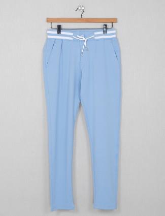 Beevee comfort wear blue track pant