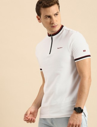 Being Human presented white cotton t-shirt for men