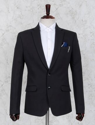 Black color two buttoned placket blazer