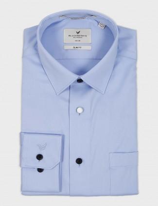 Blackberry light blue formal shirt