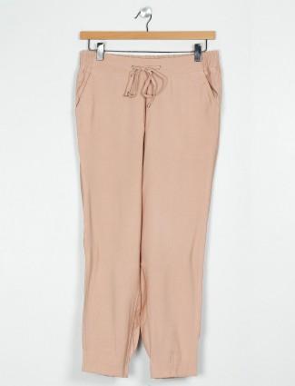 Chikoo brown pyjama in cotton
