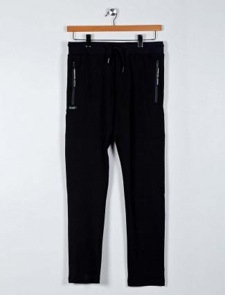Chopstick black color night track pant