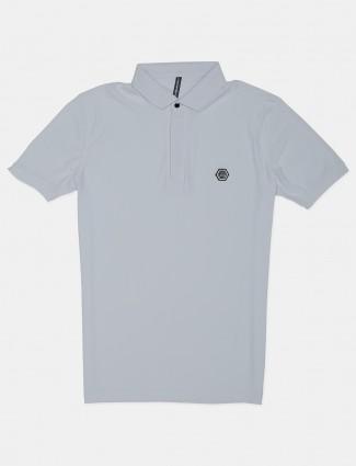 Chopstick mens white checks t-shirt