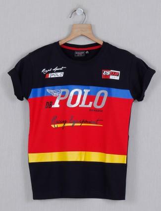 Danaboi navy printed t-shirt