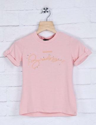 Deal cotton plain girls top