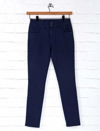Deal denim navy solid jeans