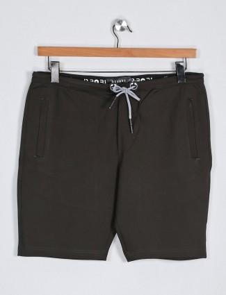 Deepee solid olive colored shorts