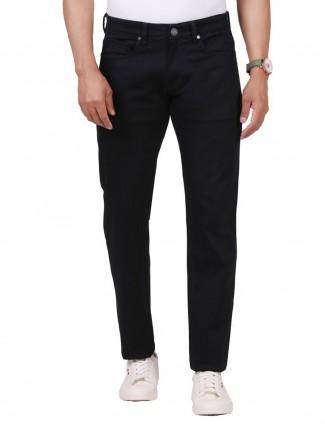 Dragon Hill fancy solid black jeans
