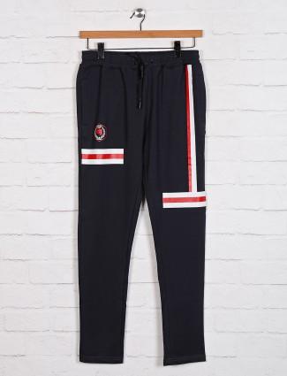 Dxi grey stripe cotton track pant