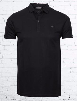 Freeze solid black cotton t-shirt