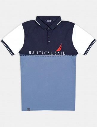 Freeze solid grey half sleeves polo t-shirt
