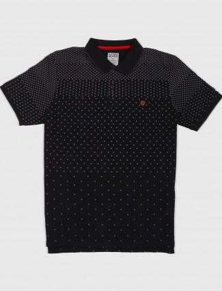 Fritzberg printed black color t-shirt