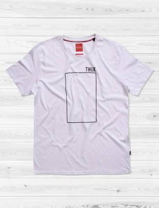 Fritzberg white simple t-shirt