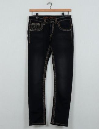 Gesture black washed denim jeans