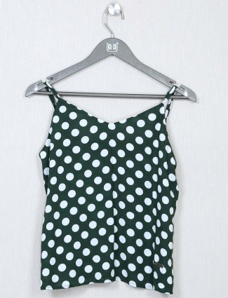 Global Republic green printed casual top