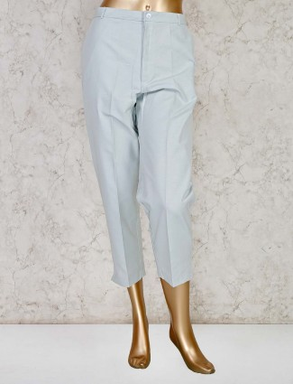 Grey casual wear cotton trouser