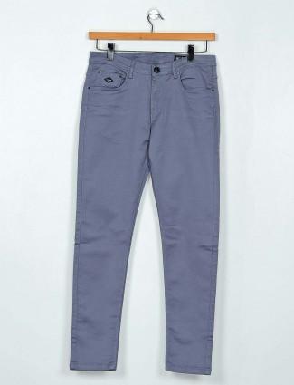 GS78 solid grey mens denim jeans