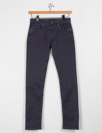 Killer charcoal grey slim fit solid jeans