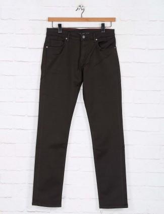 Killer dark olive slim fit jeans