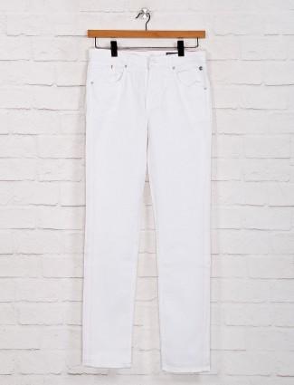 Killer presented solid white hue jeans