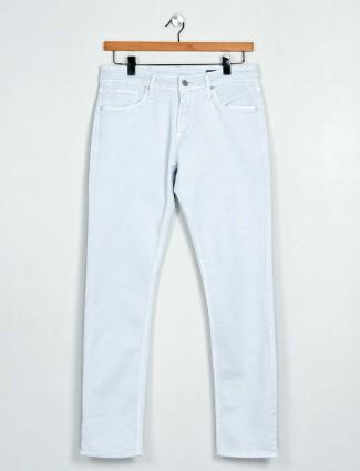 Killer slim fit sky blue solid jeans
