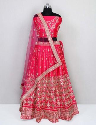 Latest deisgner semi stitche wedding wear lehenga choli
