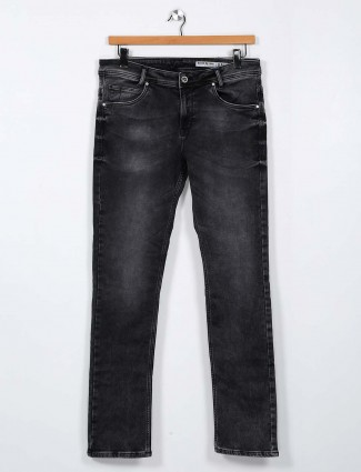 Mufti slim slim fit black jeans